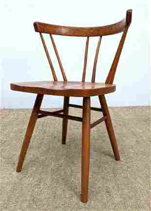 Knoll for Nakashima Attributed Straight Back Chair. Unm
