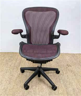 HERMAN MILLER Aeron Office Desk Chair. Marked