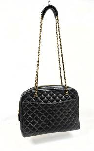 CHANEL Quilted Leather Shoulder Bag. Chanel Authenticit