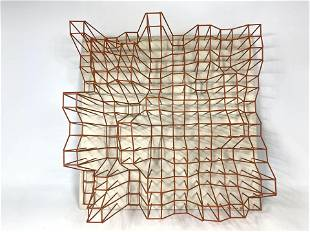 RONALD R BROWN 88 Modernist Abstract Wall Sculpture. Re