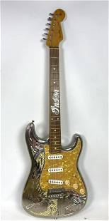 FENDER Stratocaster Guitar INDIAN MOTORCYCLE Musical In
