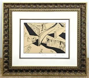 "DESTINO Salvador Dali ""Sixty-Three"" Lithograph Print. 2"