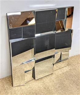 """NEAL SMALL style """"Fractured"""" Wall Mirror. Square Moder"""