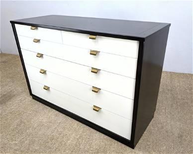 Ebonized Case Edward Wormley Dresser. DREXEL Chest Dre