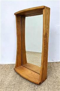 Studio Made Wall Mirror with Dove Tail Construction. Sh