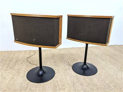 Pr BOSE 901 Tulip Base Speakers with Equalizer. Walnut