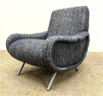 Contemporary Italian style Lounge Chair. MARCO ZANUSO s