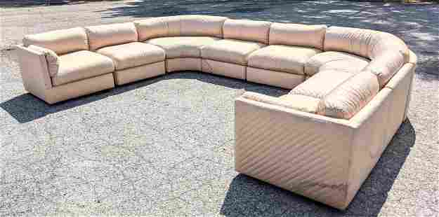 Attributed to THAYER COGGIN Sectional Sofa. Individual