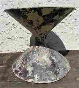 Vintage WILLY GUHL French Hourglass Planter. Garden. Pa