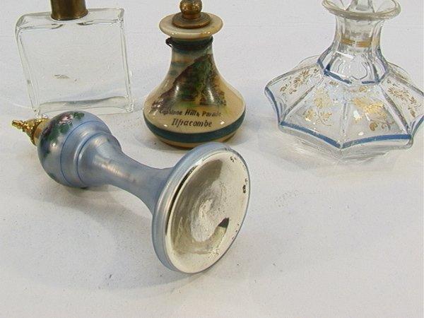 365: 4 Perfume Bottles Enameled top, Devon Violets - mi - 4