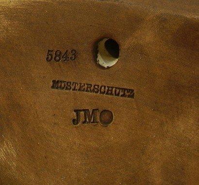 410: Musterschutz 5843 Deep Relief Wall Plate Bust of l - 3