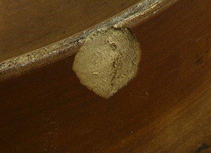 410: Musterschutz 5843 Deep Relief Wall Plate Bust of l - 4