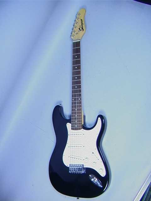 367 jcx stargazer electric guitar comes with carryi. Black Bedroom Furniture Sets. Home Design Ideas