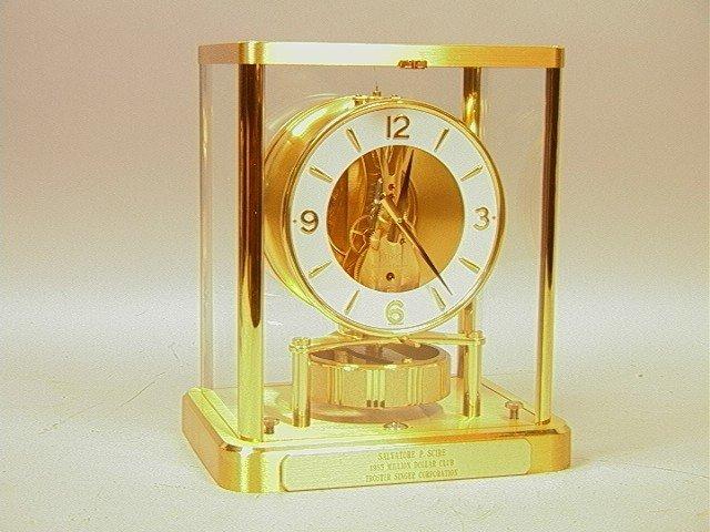 4: Jaeger Le Coultre 540 Atmos Clock.  LeCoultre bra