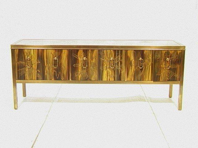26: MASTERCRAFT Bernhard ROHNE Brass Sideboard Buffet