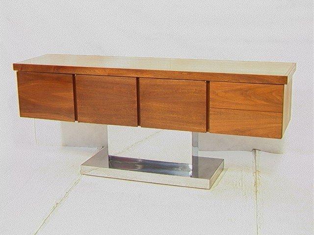 512: Warren Platner Style Sideboard Credenza Buffet. W