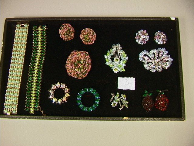 3: 12 Pcs Lot Signed Costume Jewelry. Including CINE