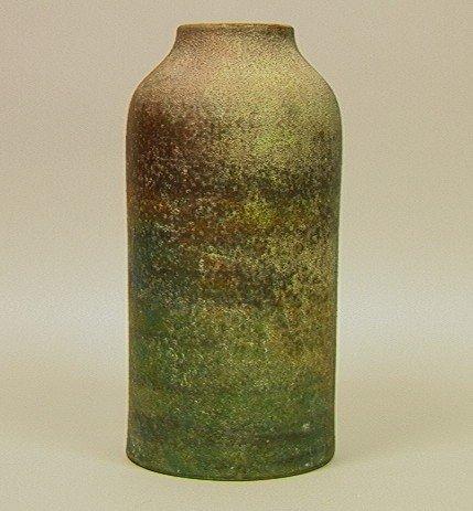 6: RAYMOR Italian Ceramic Vase with Heavy Volcanic G