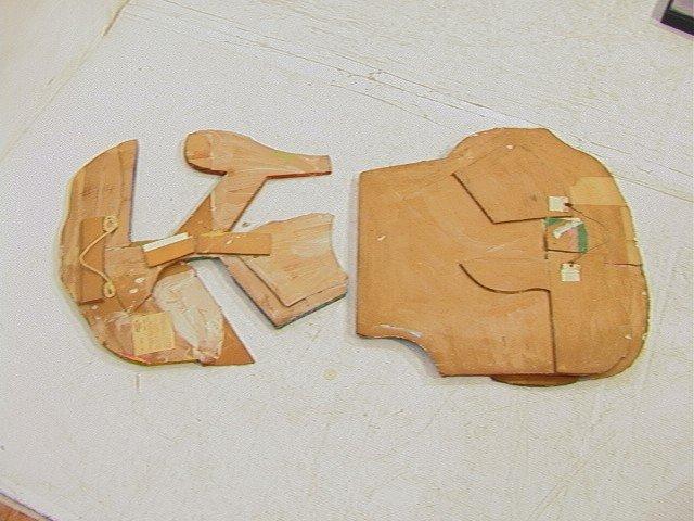 448: Pr STUART EGNAL Cardboard Collage. Acrylic Painti - 4