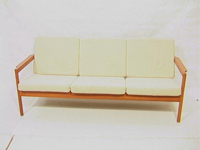 PR Danish Modern MAGNUS OLESEN Teak Sofa Couch