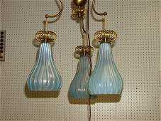 289: Decorator Murano Glass Hanging Pendent Chandelier