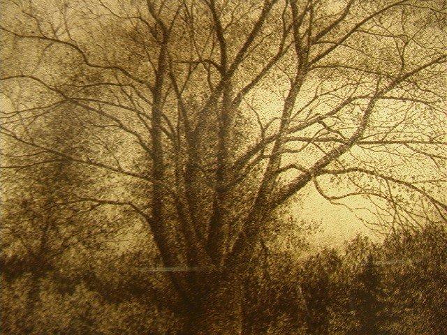 380: William T Livesay. Original Intaglio Print Pencil - 3
