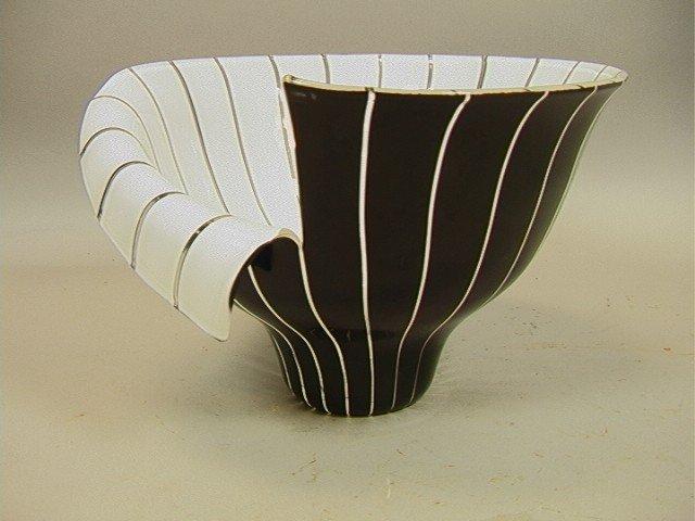 9: Toni Zuccheri Barovier Toso Murano Bowl Vase.  19