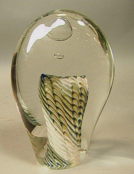20: Mariel Waddell MJH Glass Design Oceanic Sculpture