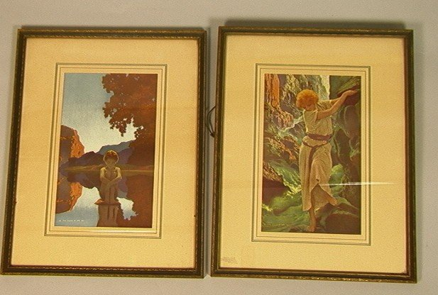 """17: Two Maxfield Parrish Framed Prints.  """"The Canyon"""""""