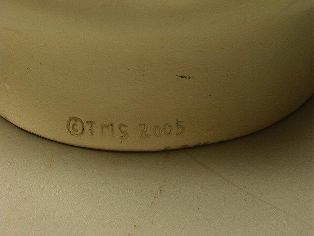 2: TMS 2005 Fornasetti Style Face Vase.  White. - 2
