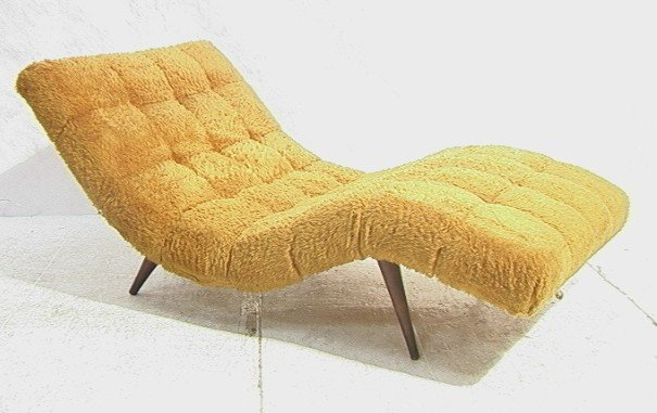 353  70 s Modern Wave Lounge Chair Chaise Lounge  Tap70 s Modern Wave Lounge Chair Chaise Lounge  Tap. Modern Yellow Lounge Chair. Home Design Ideas