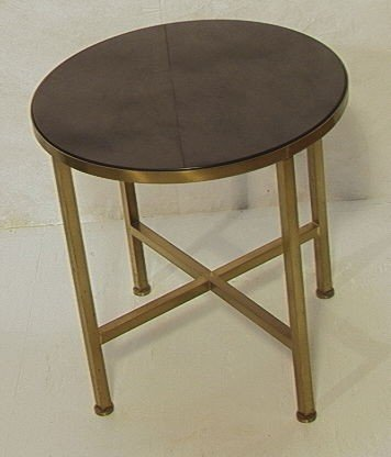 6: Paul McCobb Style Occasional Side Table.  Heavy s
