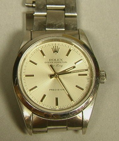 702: Rolex Oyster Perpetual Air-King Men's Watch
