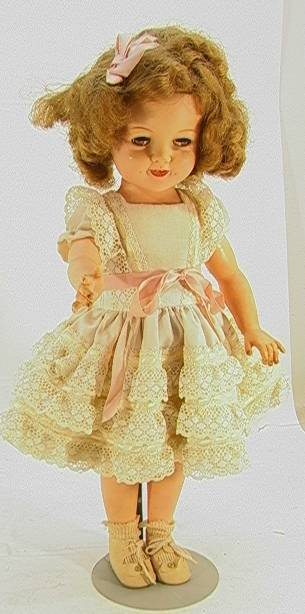 22: Ideal Shirley Temple Doll ST - 1919 inches   Dimens
