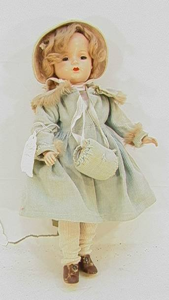 23: Madame Alexander Doll  14 inchesSleepy eyes, pigtai
