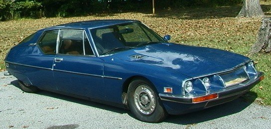 1000: 1974 Citroen SM Car with Maserati Engine.