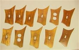 255 11pcs Phil Powell Style Switch Plates  9 Light s