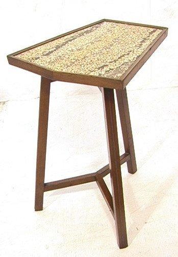 5: EDWARD WORMLEY for DUNBAR Glass  Mosaic Top Table
