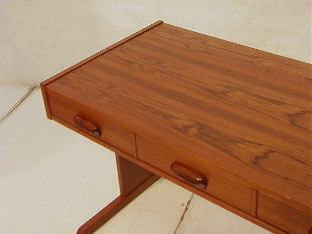 169: VI-MA MOBLER Danish Modern Teak Wood Desk. Three - 2