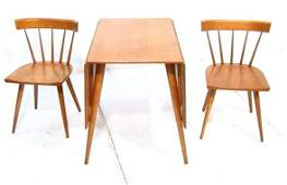 170 PAUL McCOBB Planner Group Dining Table Chairs Ma