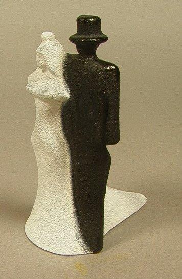 17: KOSTA BODA Art Glass Figure. K. ENGMAN designed B