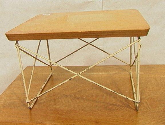 433: Early Eames Herman Miller LTR Table.  Natural Bir