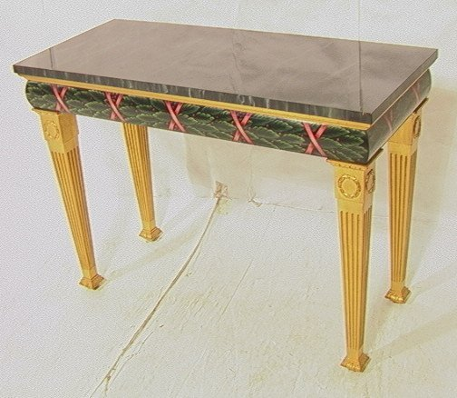 6: Karges Furniture Co.  Console Table.  28298.  Ver