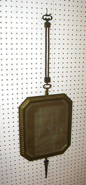 9: Bronze Decorator Wall Mirror Beveled glass mirror