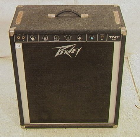 17: Peavey TNT 100 Amp.