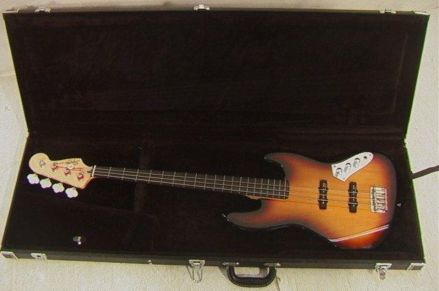 19: Fender Squier Jazz Electric Bass Guitar.  ICS10168