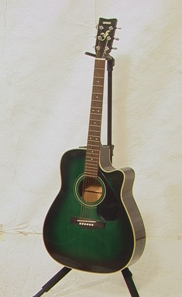 21: Yamaha FG-411CE MAB Acoustic Electric Guitar.  Wi
