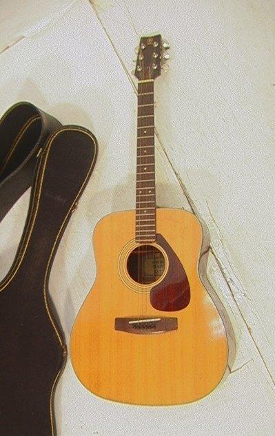22: Yamaha FG-160 Acoustic Guitar. With Case.