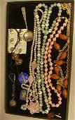 113 11pcs Asian Jewelry  Enamel Pcs  Sterling Keych