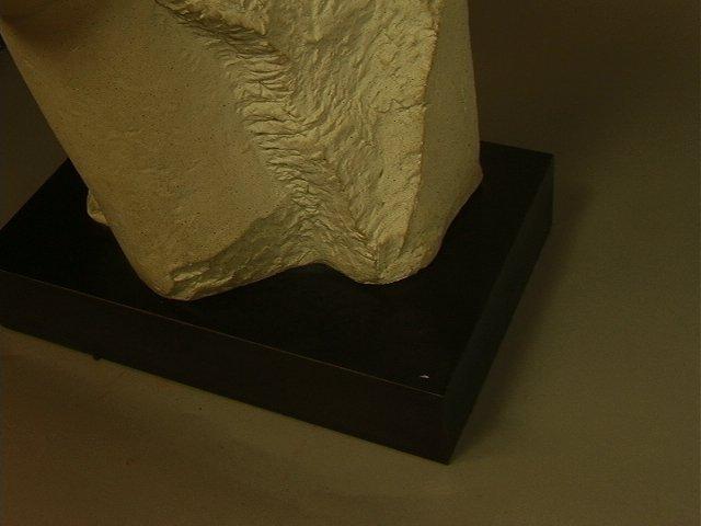246: Modigliani Austin Prod 1985 Sculpture.  Plaster o - 3